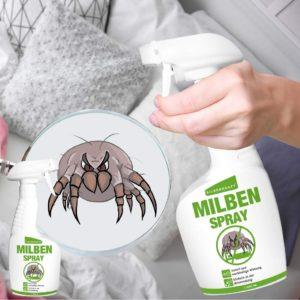 Milbenspray für Matratzen