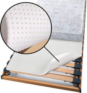Matratzenschoner zwischen Lattenrost und Matratze