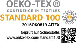Bettlaken Ökotex Standard 100