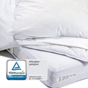 Milbenschutz Encasing für Bettwäsche