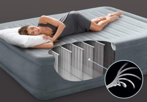 Wie ist ein Luftbett aufgebaut