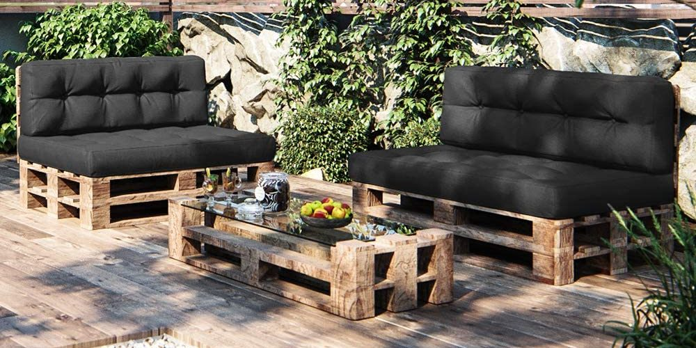 Palettenkissen Sofa Terasse